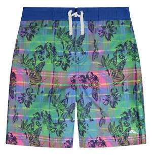 Tommy Bahama Boy's Plaid Boardshorts