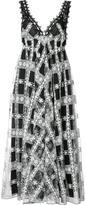 Giamba lace overlay dress - women - Cotton/Polyamide/Polyester - 38