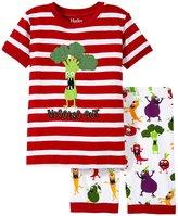 Hatley Monster Veg PJ Set (Toddler/Kid) - Red - 3T