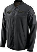 Nike Men's Carolina Panthers Salute to Service Hybrid Jacket