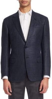 Giorgio Armani Wool Slim Fit Sportscoat