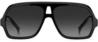 Givenchy 60MM Square Aviator Sunglasses