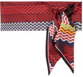 Missoni Printed Silk-twill Scarf