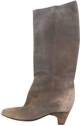 Maison Margiela Grey Suede Boots