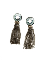 The Limited Ranjana Khan Sparkling Tassel Earrings