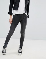 Noisy May Eve Panelled Skinny Jeans