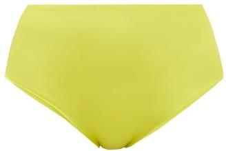 JADE SWIM Bound High-rise Bikini Briefs - Womens - Light Green