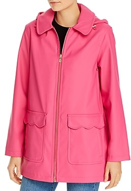Kate Spade Scallop Trim Coat