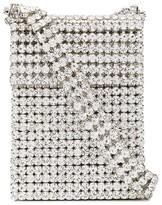Area small crystal-embellished shoulder bag