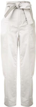 Le Ciel Bleu Slouchy Utility Trousers