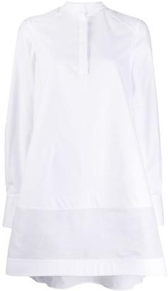 Valentino Bow-Detail Flared Shirt Dress