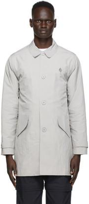 A-Cold-Wall* Grey Welded Mac Coat