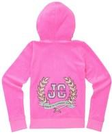 Juicy Couture Girls Logo Velour Glam Laurels Robertson Jacket