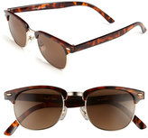 A. J. Morgan Women's A.j. Morgan 52Mm 'Soho' Sunglasses - Crystal/ Mirror