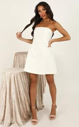 Showpo Cover Star Dress in white - 16 (XXL) Engagement Dresses