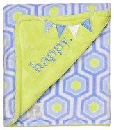 Boppy Reversible Plush Baby Blanket - Pastel Blue