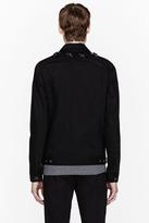 Givenchy Black star-studded denim jacket