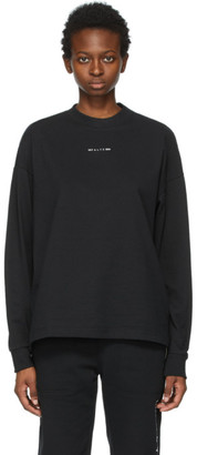 Alyx Black Visual Logo Long Sleeve T-Shirt