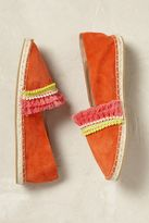 Anthropologie Akra Suede Espadrilles