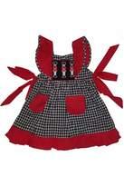 The Bubble Bee Nutcracker Pinafore Dress