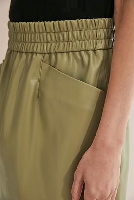 Country Road PU Mini Skirt