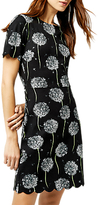 Warehouse Dandelion Print Dress, Black Pattern