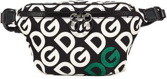 Dolce & Gabbana Men's Logo Mania Belt Bag