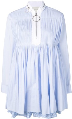 Cédric Charlier Babydoll Short Dress