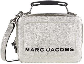 Marc Jacobs The Box 20 Satchel (Platinum) Handbags