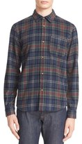 A.P.C. Men's Trevor Plaid Wool Blend Flannel Shirt