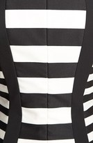 Trina Turk 'Phlox' Stripe Ponte Sheath Dress