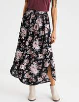 American Eagle Outfitters AE POM & TIE MAXI SKIRT