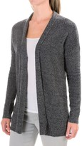 Lilla P Boucle Cardigan Sweater - Open Front (For Women)