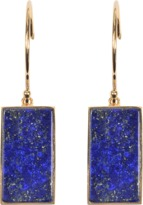 ginette_ny Boucles D'oreilles Ever Rectangle En Lapis