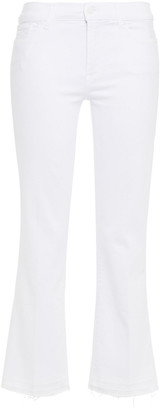 7 For All Mankind Low-rise Kick-flare Jeans