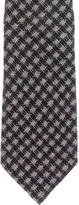 Tom Ford Limited Edition Wool and Silk-Blend Gingham Tie