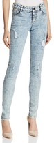 Alice + Olivia Jane Skinny Jeans in Stone Wash