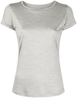 Incentive! Cashmere round neck silk T-shirt