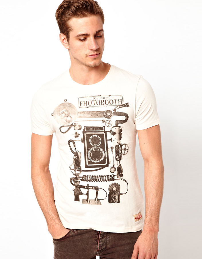 Esprit T-Shirt With Photobooth Print