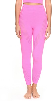 Adam Selman Sport Rib Knit Leggings