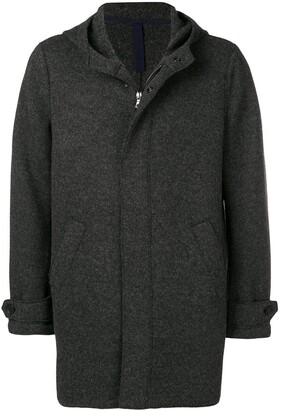 Harris Wharf London Single-Breasted Fitted Coat