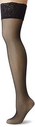 Levante Women's Retina Hold-Up Stockings, 20 DEN, Black Schwarz), (size: 42/46 L/XL)