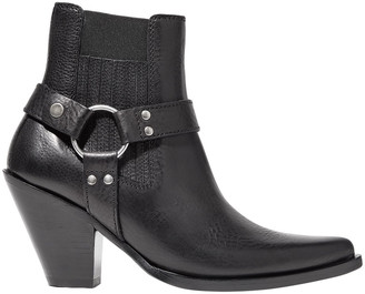 Maison Margiela Strap-detailed Leather Ankle Boots