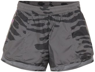 adidas by Stella McCartney Run M20 printed shorts