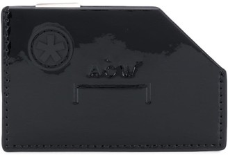 A-Cold-Wall* Diecut embossed logo cardholder