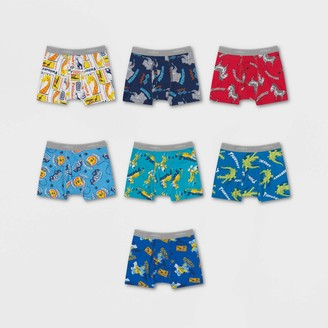 Hanes Toddler Boys' Day of the Week Printed Briefs 7pk - Colors Vary