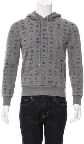 Christian Dior Hooded Me My Print Sweatshirt