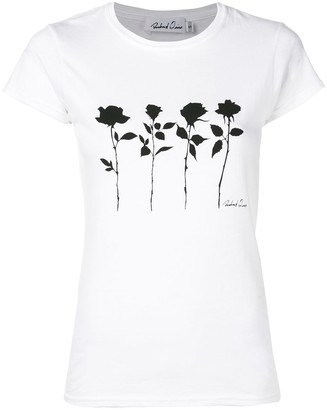 Richard Quinn floral-print T-shirt