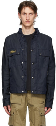 Belstaff Navy Instructor Jacket