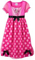 Disney's Minnie Mouse Toddler Girl Polka-Dot Dress-Up Nightgown